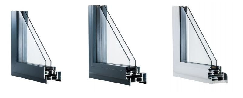 Example of Aluminium new window designs from 21st Century Conservatories & Fascias.