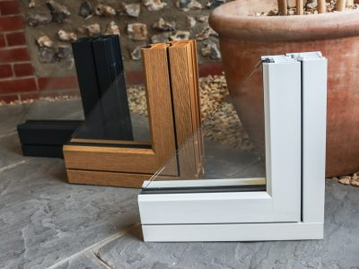 Examples of window frame designs.