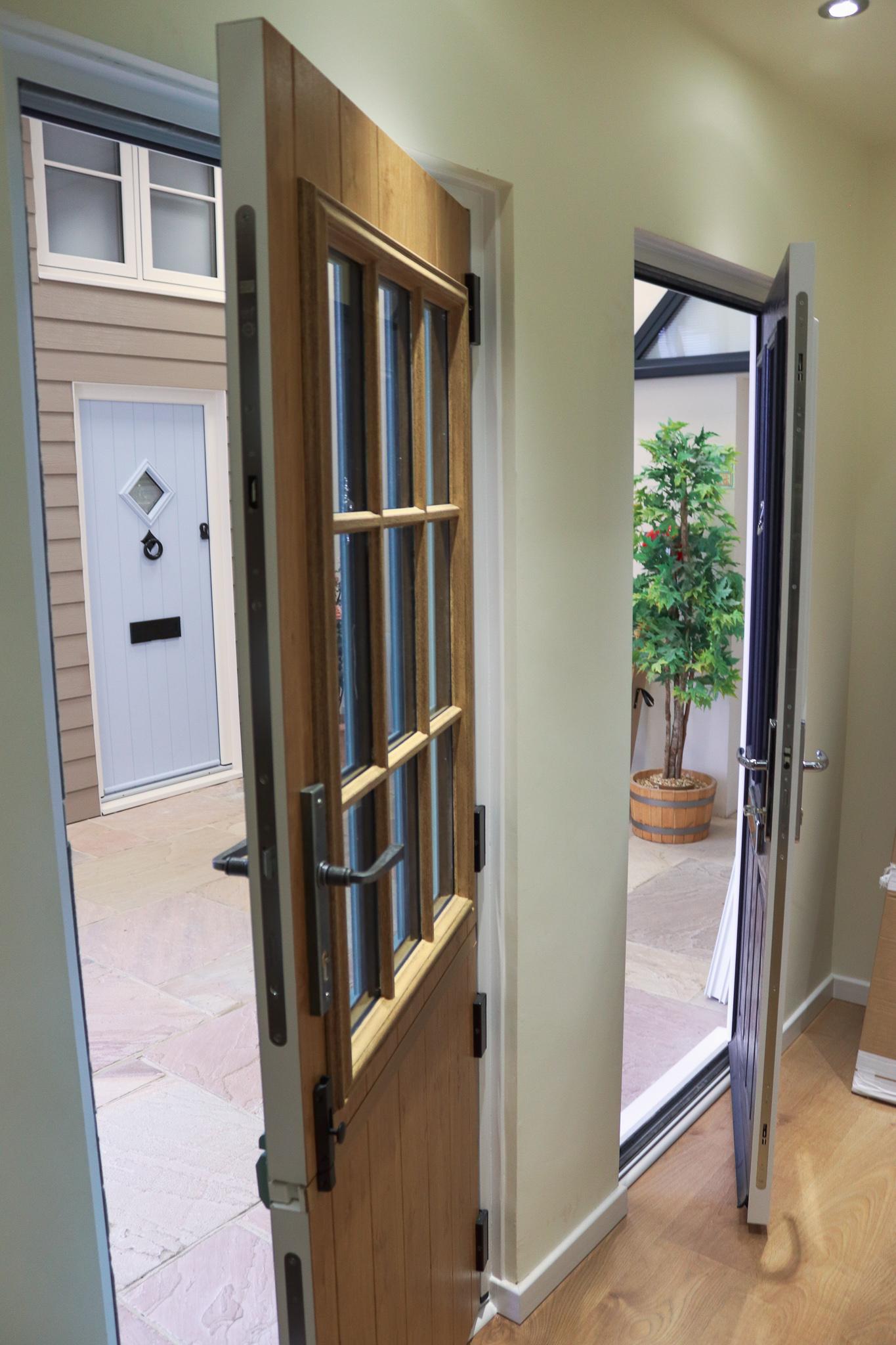 Image of new door installation by 21st Century.