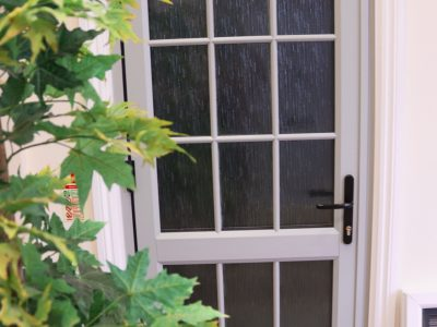 Image of a new front door example.