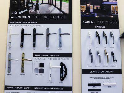 Image of door handle combinations for your new front door.