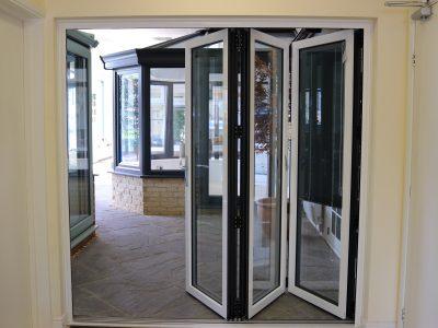 Image of 21st Century's sliding french doors.