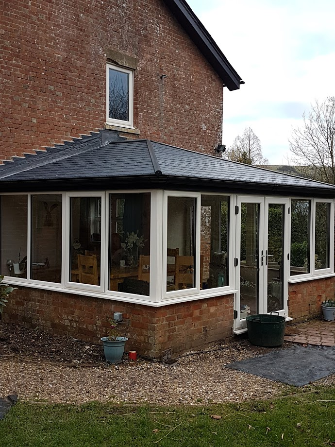 Image of a new conservatory example.