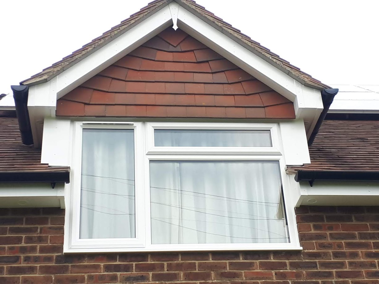 Front view of a new fascias design by 21st Century Conservatories & Fascias.
